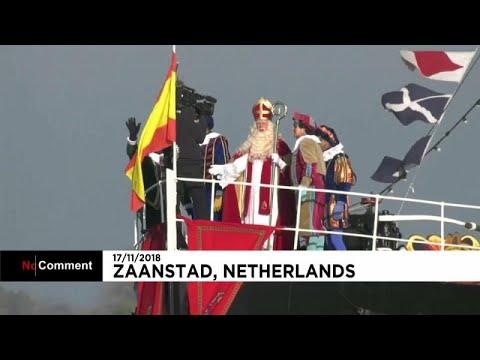 no comment: Στην Ολλανδία ο sinterklaas - youtube