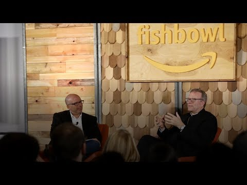 "Bishop Barron at Amazon HQ on ""Arguing Religion"" Book"