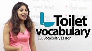 Toilet Vocabulary & Phrases  -  Free Spoken English  Lesson thumbnail