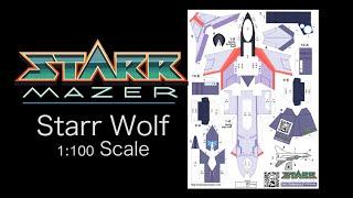 Papercraft Starr Wolf