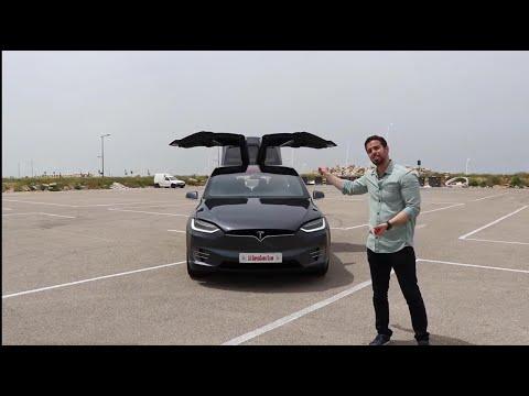 تجربة قيادة: تسلا اكس- Review: Tesla Model X