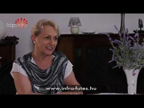 Infrafűtés tapasztalat, Infrafűtés vélemény - Tokyo Solar - Dr. Lengyel Margit, Budapest