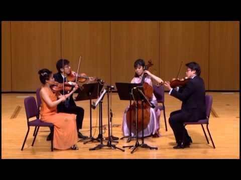 Mozart: String Quartet in F major, K. 590. First movement
