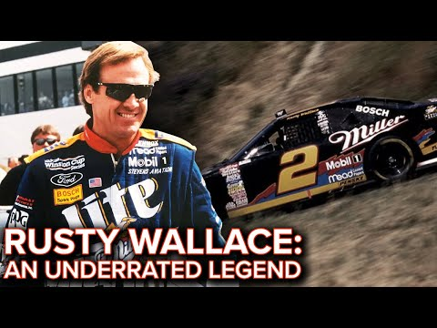 Rusty Wallace: An Underrated Legend Of NASCAR