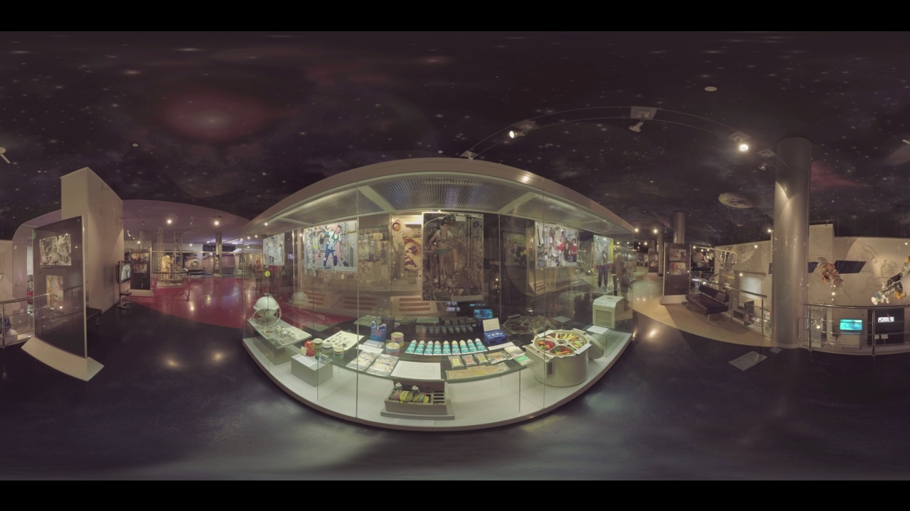 Exploring the Cosmonautics Museum in Moscow (360 Video)
