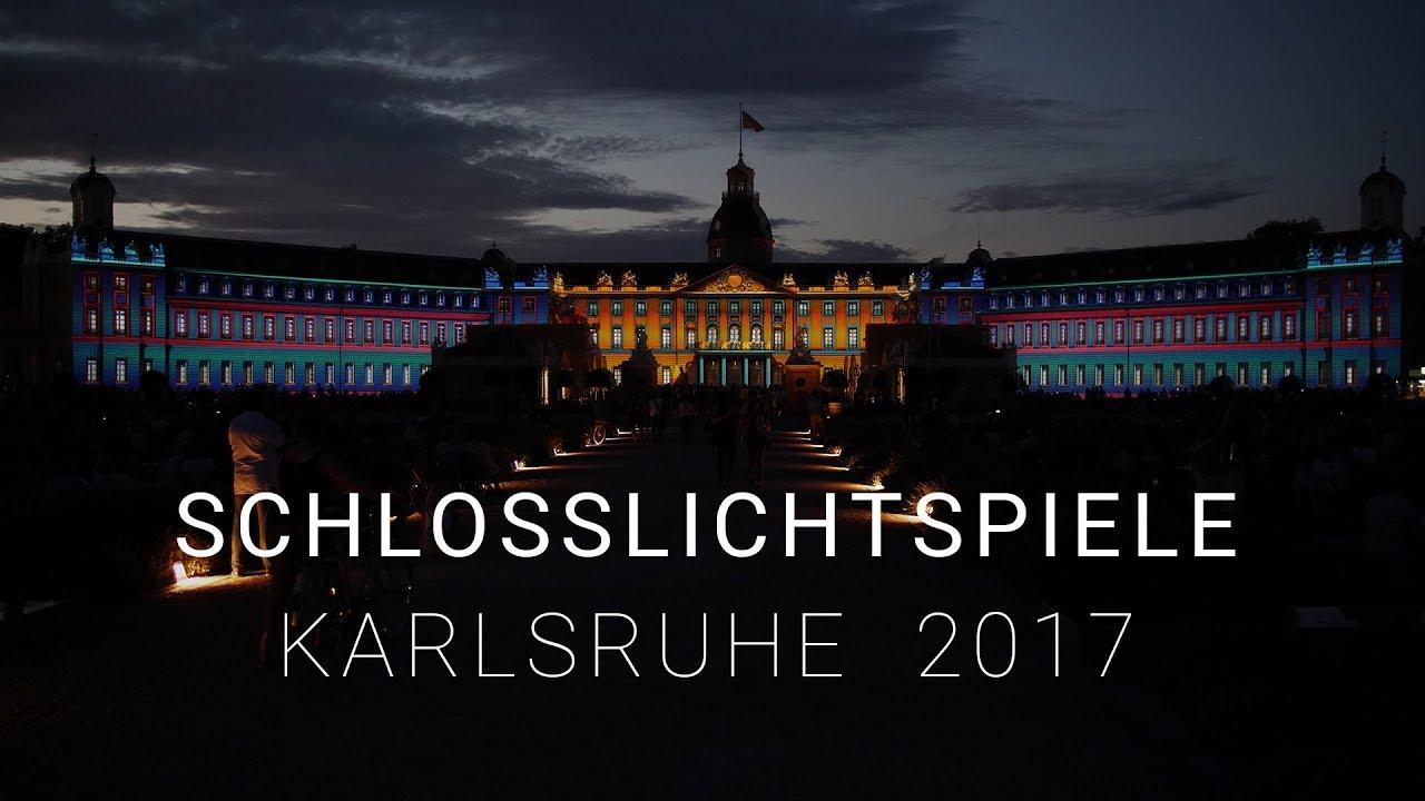 Lichtershow Schloss Karlsruhe