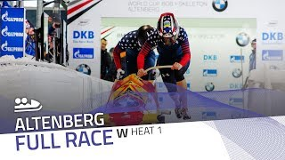 Altenberg | BMW IBSF World Cup 2017/2018 - Women's Bobsleigh Heat 1 | IBSF Official