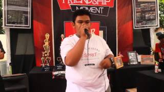 ZEIN Friendship Moment 2014 Beatbox Battle Chionship Showcase Elimination