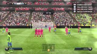 Fifa 15 free kick from yaya toure