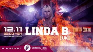 Molotov Cocktail #010 - Linda B [UK] guest breakbeat mix (12.11.15 Criminal Tribe Radio)