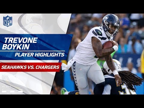 Trevone Boykin's Best Plays vs. LA | Seahawks vs. Chargers | Preseason Wk 1 Player Highlights