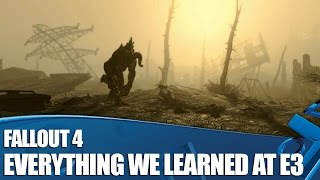 Fallout 4 - Everything We Know So Far