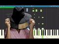 How To Play Free Me On Piano Sia Piano Tutorial Instrumental mp3