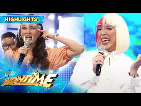 Vice teases Kim for being fussy | It's Showtime