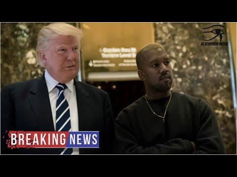 Kanye West Gets Trump, Gives Democrats & Black Lives Matter 'Nasty Surprise'