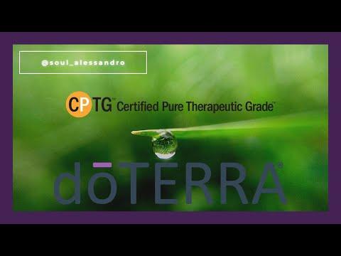 CPTG Certificado de Pureza Testada e Garantida doTERRA