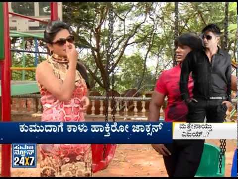 Jackson Team With Suvarna News Exclusive | Duniya Vijay New Film Part2