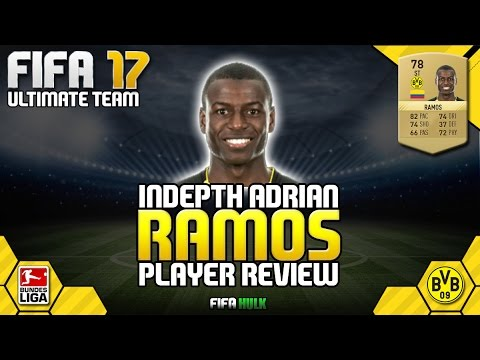 FIFA 17 ADRIAN RAMOS REVIEW | CHEAP BEAST | FIFA 17 ULTIMATE TEAM REVIEW