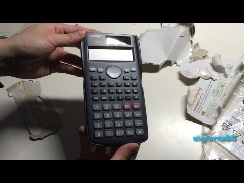 how to change the decimals on a casio fx-82au