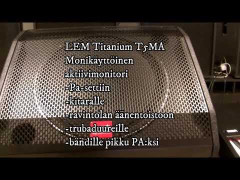 Generalmusic LEM T5MA monitor + T5SA SUB