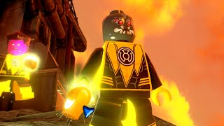 LEGO Batman 3: Beyond Gotham - Sinestro Corps Warrior Gameplay and Unlock Location