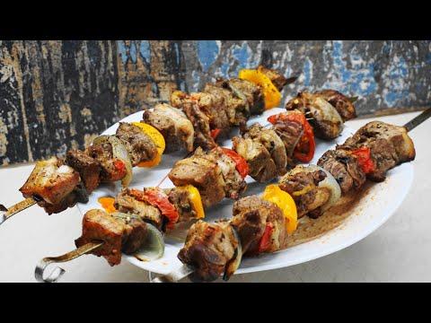 Κοντοσούβλι χοιρινό σπιτικό μερακλίδικο, στο φούρνο – pork kontosouvli | Greek Cooking by Katerina
