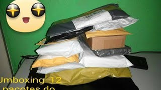 AliExpress Unboxing #20 12 itens/pacotes