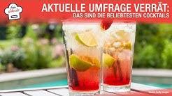 Aktuelle Umfrage verrät: Das sind die beliebtesten Cocktails