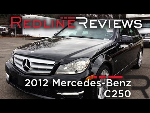 2012 Mercedes Benz C250 Review Walkaround Exhaust Amp Test Drive Youtube