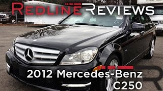 2012 Mercedes-Benz C250 Review, Walkaround, Exhaust, & Test Drive
