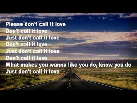 Jonas Blue ft EDX - Don´t Call It Love (Lyrics)