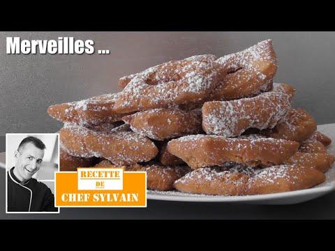 Merveilles - Recettes de Mardi Gras par Chef Sylvain