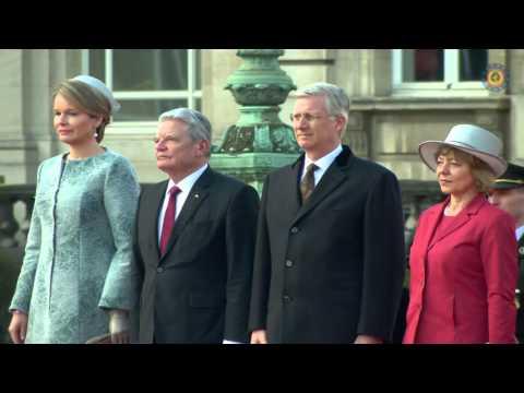 Duitse president op staatsbezoek