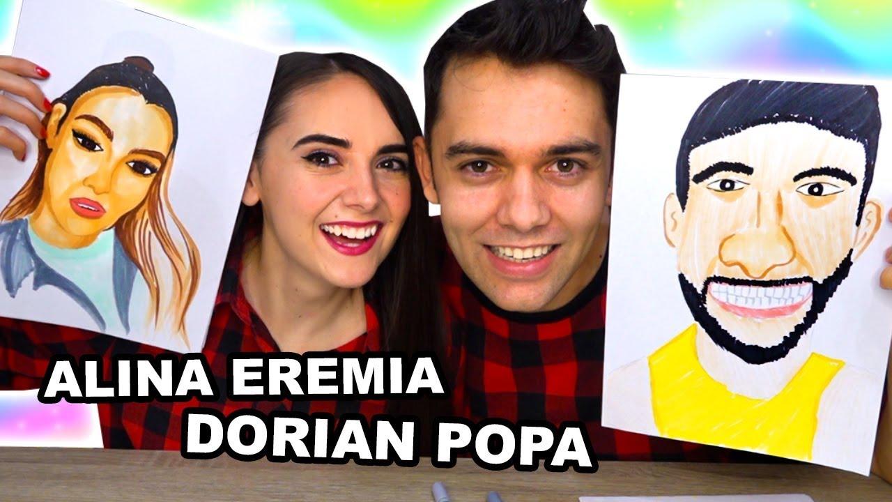 DESENĂM VEDETE! DORIAN POPA ȘI ALINA EREMIA