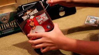 BEST PULL OF MY LIFE!!!!! MOJO!!!! 2010 Triple Threads STRASBURG/HEYWARD!!!