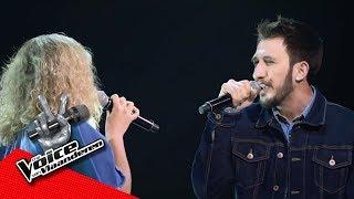 Nelson en Lisa zingen 'FourFiveSeconds' | The Battles | The Voice van Vlaanderen | VTM