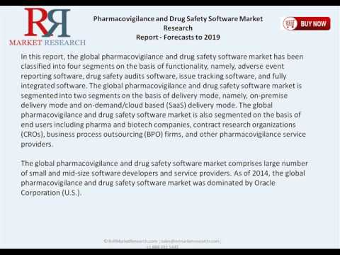 Global Pharmacovigilance Software Market to Reach $154.1 Million by 2019