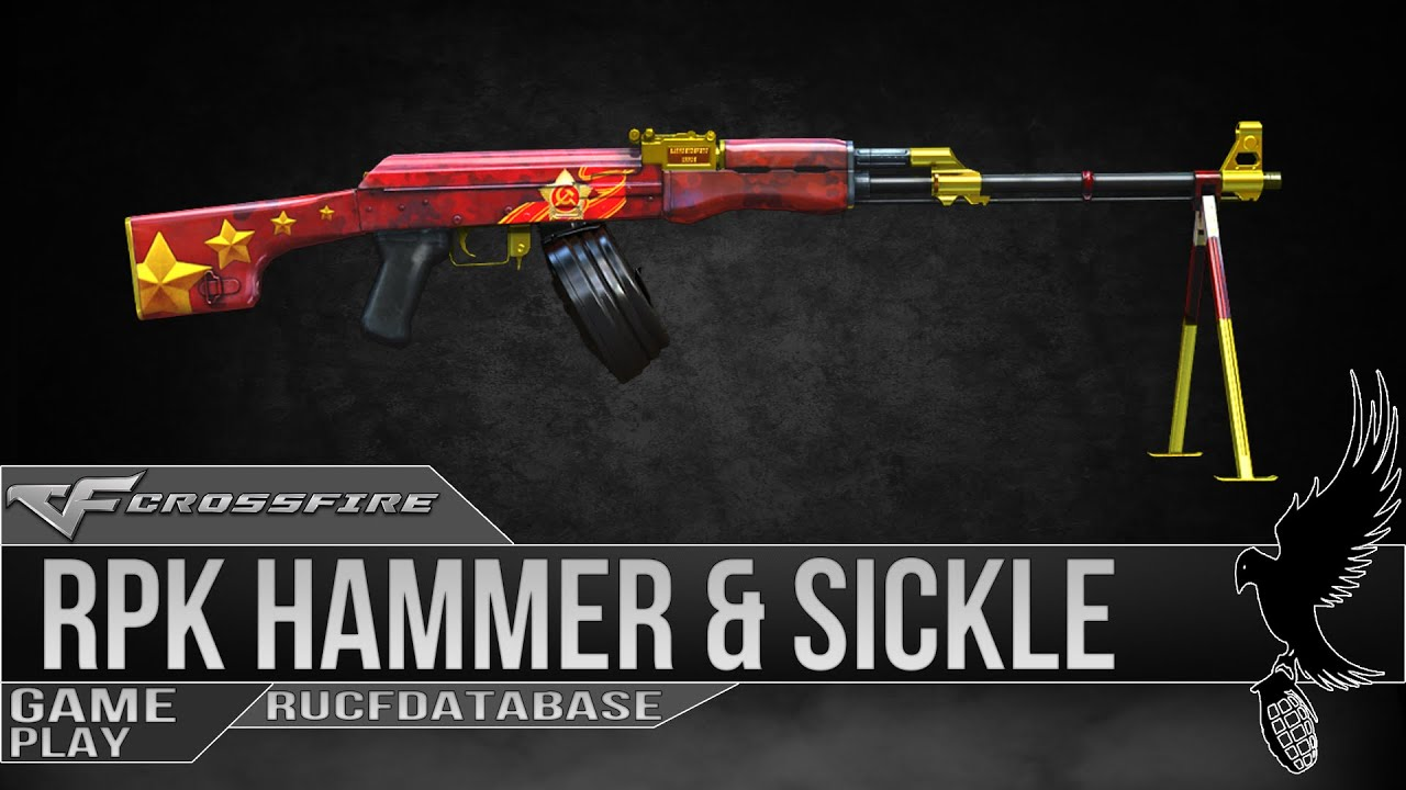 Russian CrossFire: RPK Hammer & Sickle (Серп и Молот ...