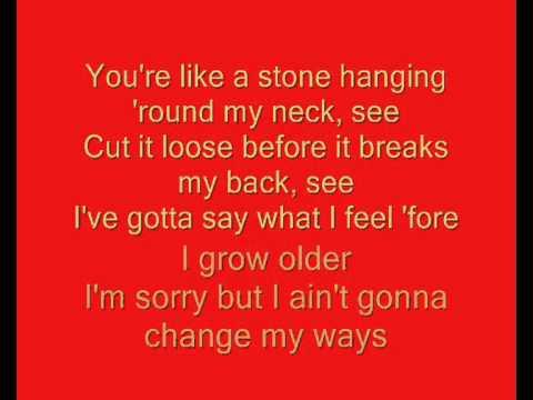 Anouk - Noboby's Wife Lyrics