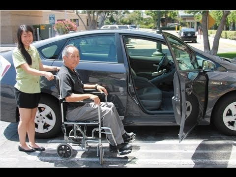 Caregiver Tips Wheelchair To Car Transfer Youtube