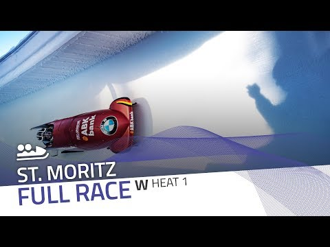 St. Moritz | BMW IBSF World Cup 2017/2018 - Women's Bobsleigh Heat 1 | IBSF Official