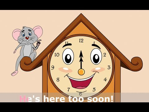 Hickory Dickory Dock - Nursery Rhymes by EFlashApps