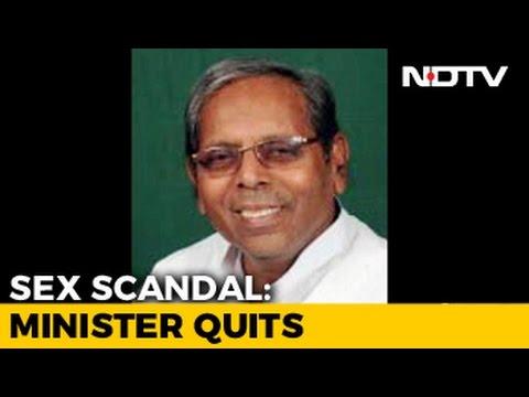 Minister resigns over secret sex tape