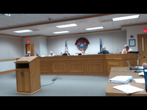 02/11/2019 Carroll County Board of Supervisors Special Called Meeting