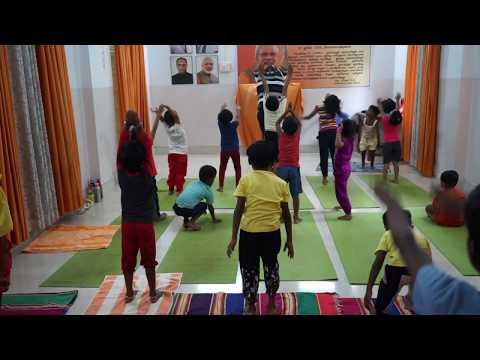 Surya Namaskar for kids by YOGI Hari Bhaskaran