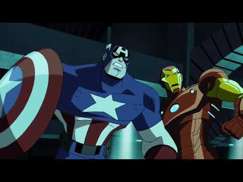 Kang the Conqueror vs. Captain America and Iron Man