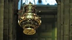 Der Botafumeiro in der Kathedrale von Santiago de Compostela