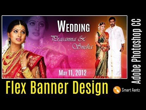flex banner design in photoshop youtube flex banner design in photoshop