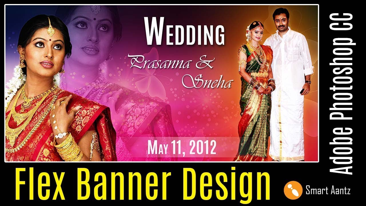flex banner design in photoshop youtube flex banner design in photoshop