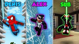 Baixar DENIS vs ALEX vs SUB - SPIDERMAN MOVIE in Minecraft! (The Pals)